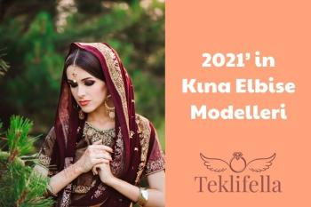 Kına Elbise Modelleri 2021
