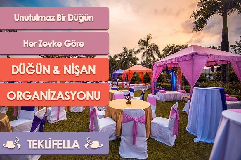 Düğün ve Nişan Organizasyonları Ankara Paketlerini Kaçırmayın
