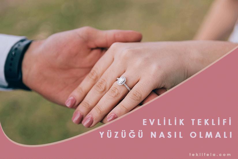 Evlilik Teklifi Yüzükleri Nasıl Olmalı?