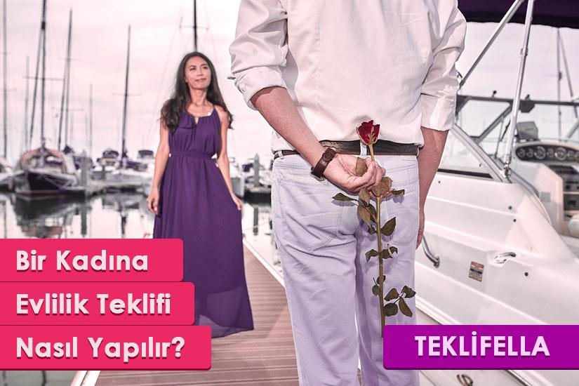 Bir Kadına Evlilik Teklifi Nasıl Yapılır?