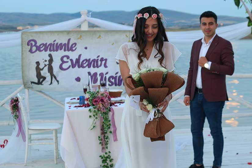 İskele Evlilik Teklifi (Ankara)